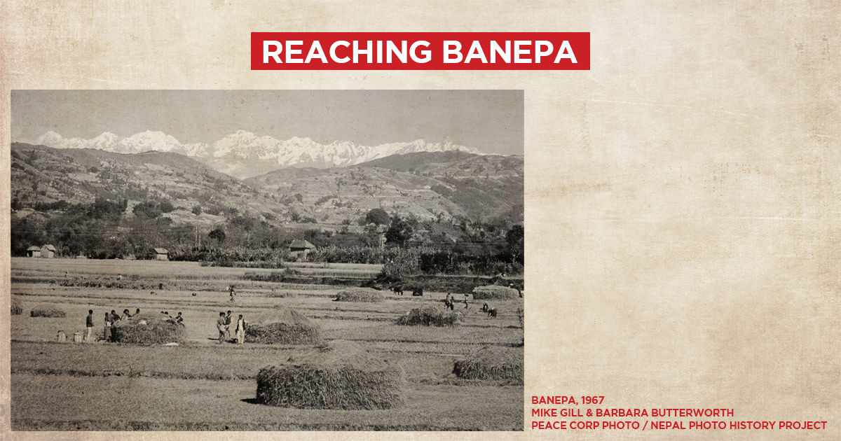 Banepa, 1967 (Mike Gill & Barbara Butterworth) (Peace Corp Photo/Nepal Photo History Project)
